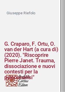 G. Craparo, F. Ortu, O. van der Hart (a cura di) (2020).