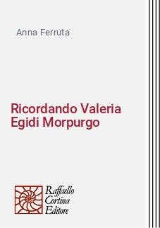 Ricordando Valeria Egidi Morpurgo