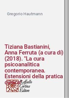 Tiziana Bastianini, Anna Ferruta (a cura di) (2018).