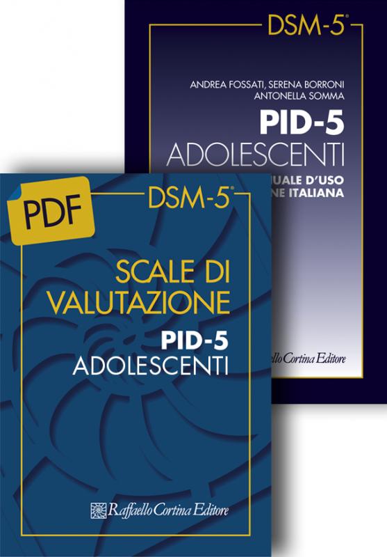 Scale di valutazione PID-5 ADOLESCENTI e Manuale d'uso