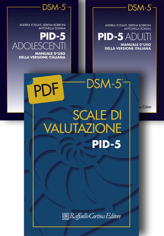 Scale di valutazione PID-5 e Manuali d'uso