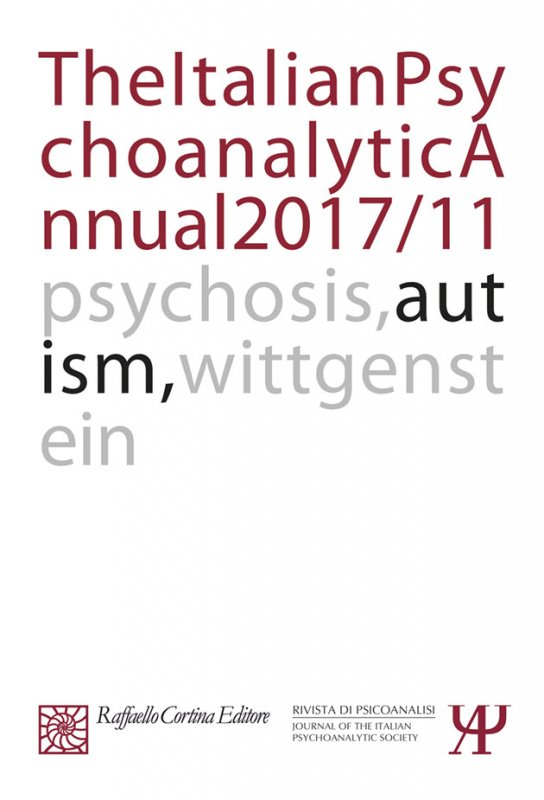 The Italian Psychoanalytic Annual 2017/11