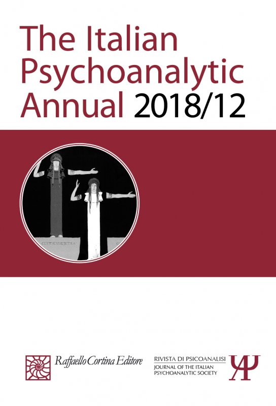 The Italian Psychoanalytic Annual 2018/12